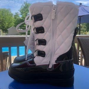 NWT Totes Kids Kayla Winter Boots Size 13M